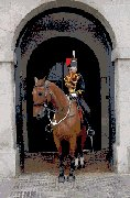 London Exclusive Designs - Horse and Rider on Guard